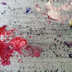 Hjärtat 2, 2013, akryl på papper