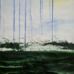Sommarregn, 2012, akryl