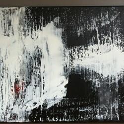 Svartvit 2, 2011, akryl